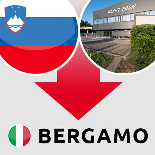 Prevoz Šempeter pri Gorici – Bergamo (IT)