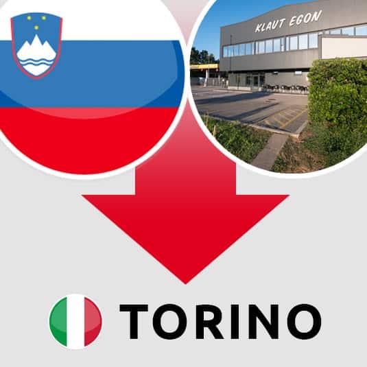 Prevoz Šempeter pri Gorici – Torino (IT)